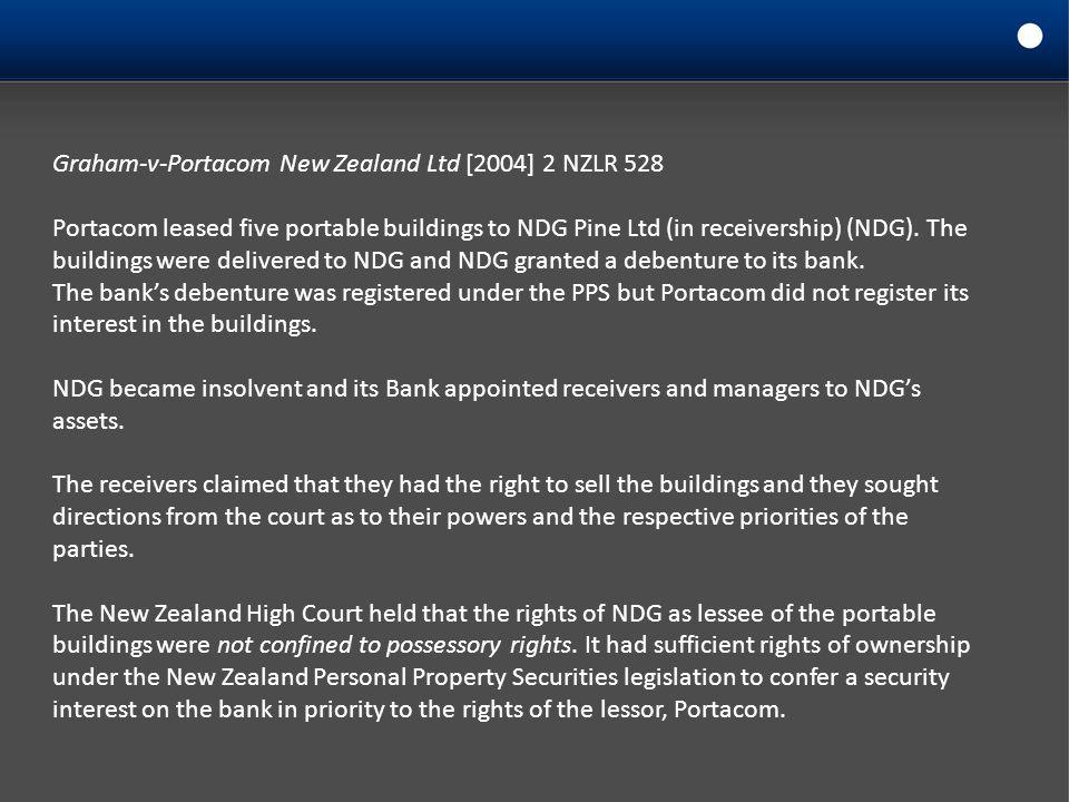 Graham-v-Portacom New Zealand Ltd [2004] 2 NZLR 528